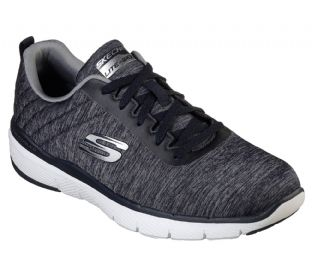 Skechers Mens 52956 NVY Navy Flex Advantage 3.0 Jection Trainers